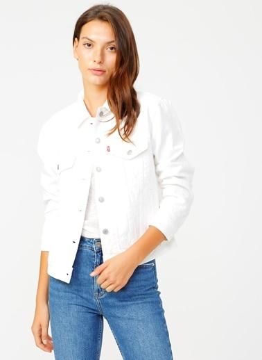 Levi's® Jean Ceket Beyaz